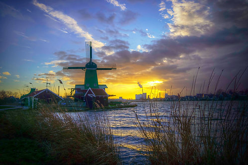 Happy Life - Zaanse Schans, Netherlands