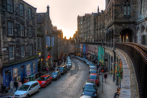 Victoria Street - Edinburgh, Scotland