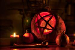 Pentagram Pumpkin