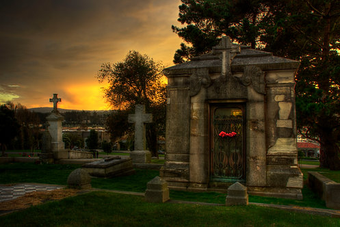 All Hollow's Eve Cemetery - Colma, California