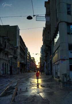 İstiklâl Caddesi.