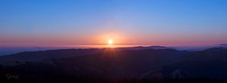 Sunset on Tamalpais