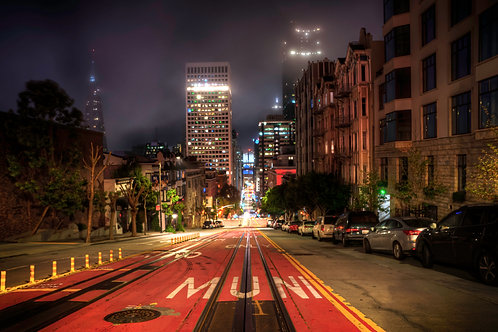 Late Night City - San Francisco, California
