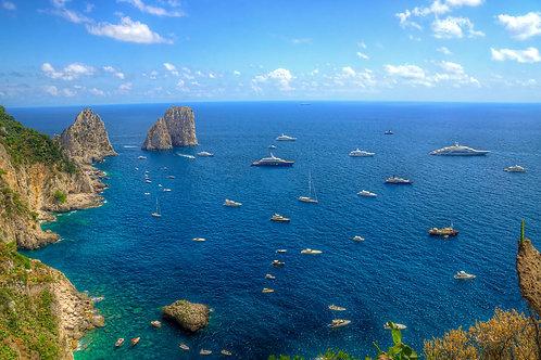 Yacht Party - Capri, Italy