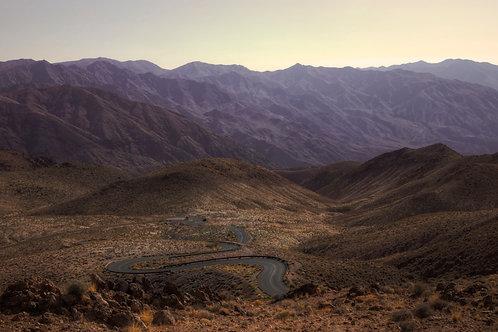 Death Road - Death Valley, California