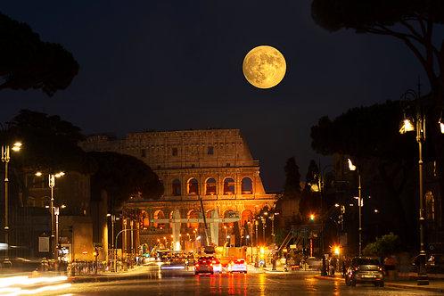 Goddess Luna Rises - Rome, Italy