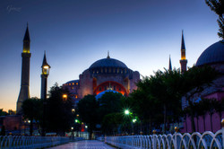 Sunrise at Hagia Sophia