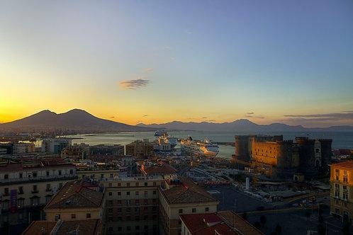 Sunrise In Napoli - Naples, Italy
