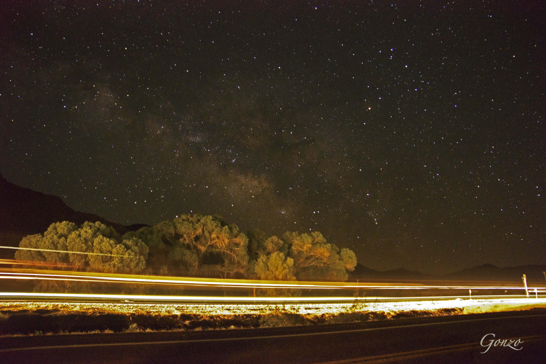 Milky Way Light Speed