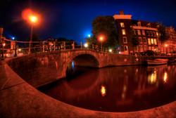 Canal Bridge Amsterdam