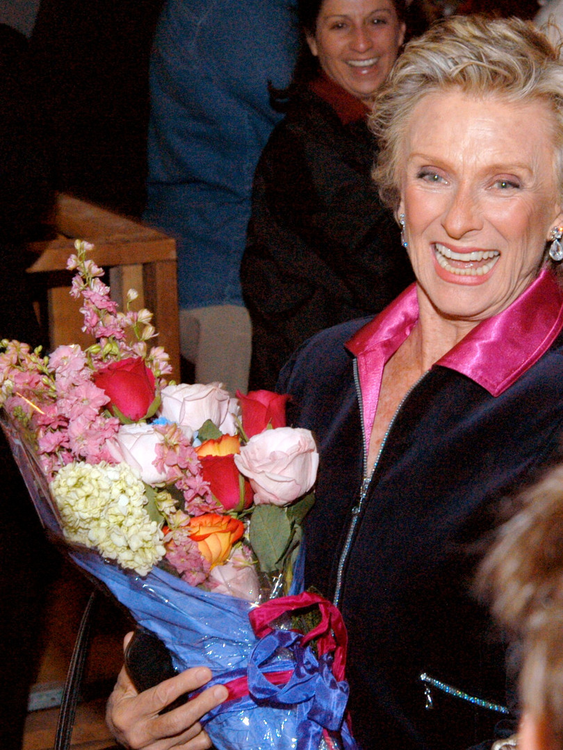 The one and only Cloris Leachman
