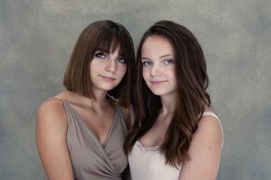 portrait-soeur-cousine-studio-photo