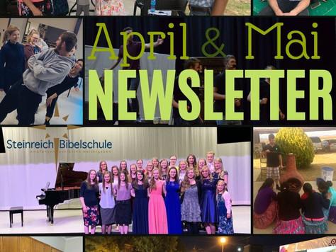 April & Mai Newsletter