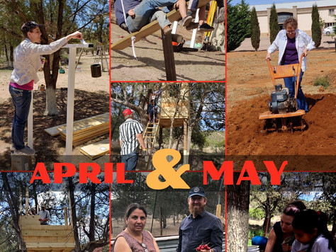 April & May Newsletter