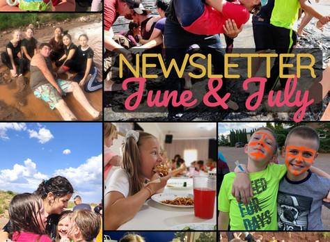 June & July Newsletter