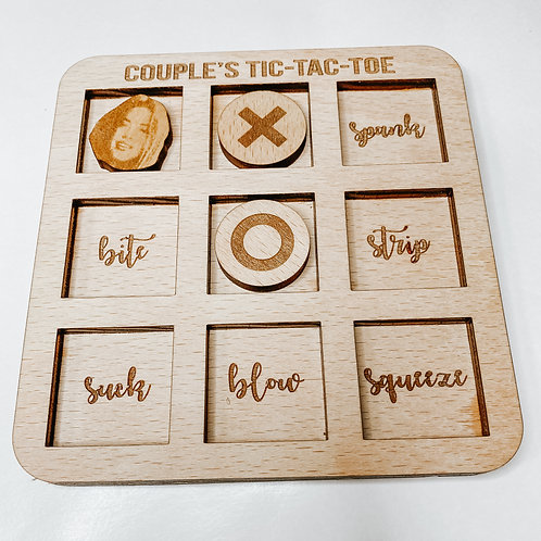 Couple's Tic-Tac-Toe Game