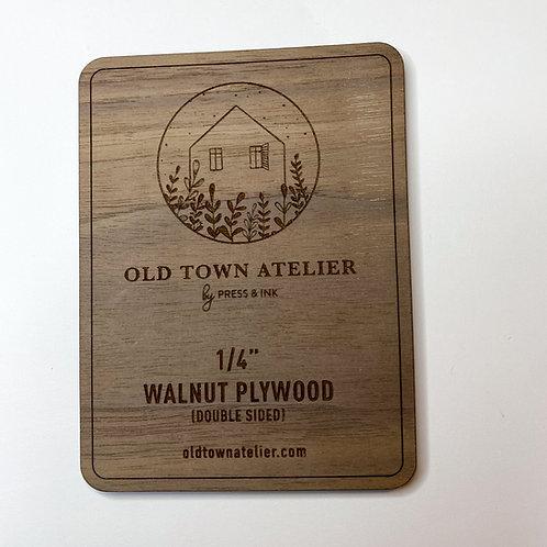 "1/4"" Walnut Plywood"