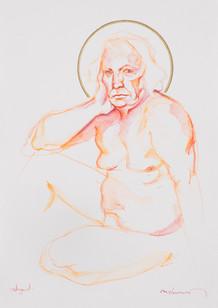 Life Drawing - Richard (saint study)