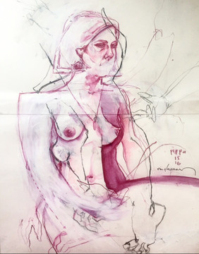 Life drawing - Pippa