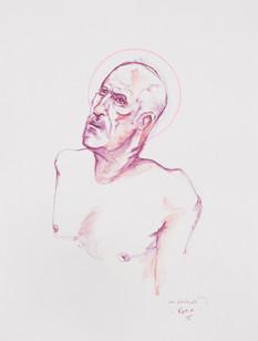 Life drawing - Kevin (saint study)