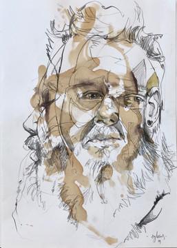 Head (portrait of painter Sam Eyles)
