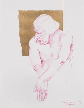 Life drawing - Richard (saint study)