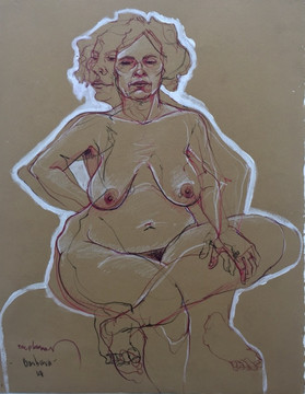 Life drawing - Barbara