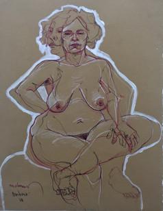Life drawing - Barbara