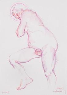 Lifea drawing - Richard (saint study)