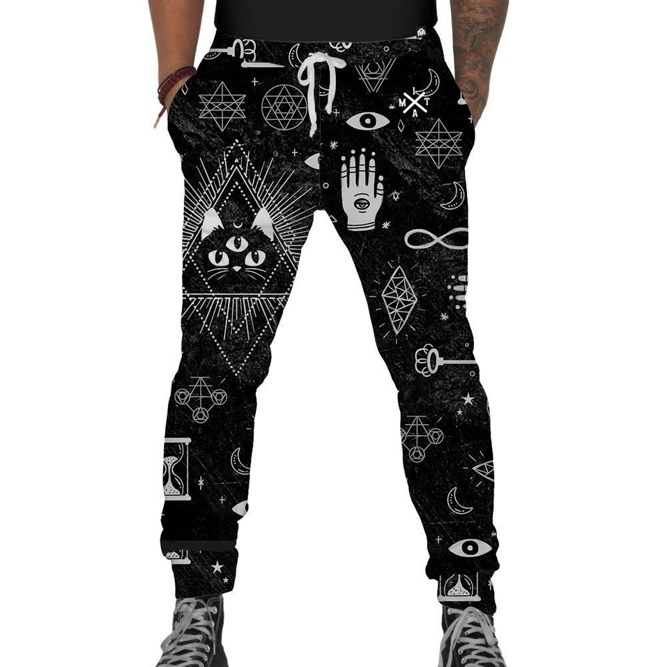 Into the AM Voodoo Kitty Joggers