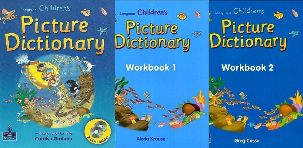 Sách học từ vựng Tiếng Anh (2): Longman Children's Picture Dictionary