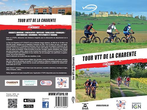 Topo Guide Tour VTT de la Charente