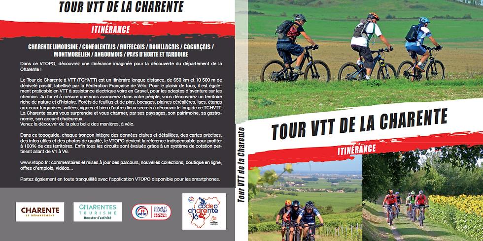 OFFRE PROMOTIONNELLE DU TOPO GUIDE TOUR VTT DE LA CHARENTE