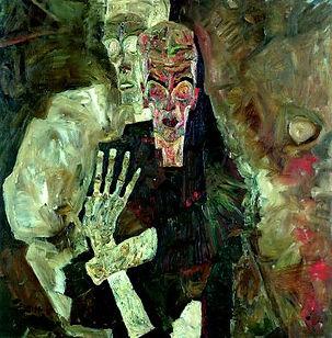 Schiele Visionnaire II (un homme et la m