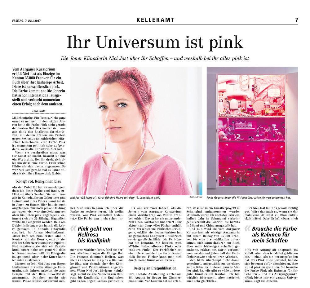 Bremgarter Bezirks-Anzeiger 7.7.2017