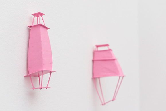 RECYCLING ART - PRETTY IN PINK