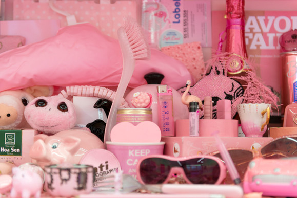 Pink Collection, detail