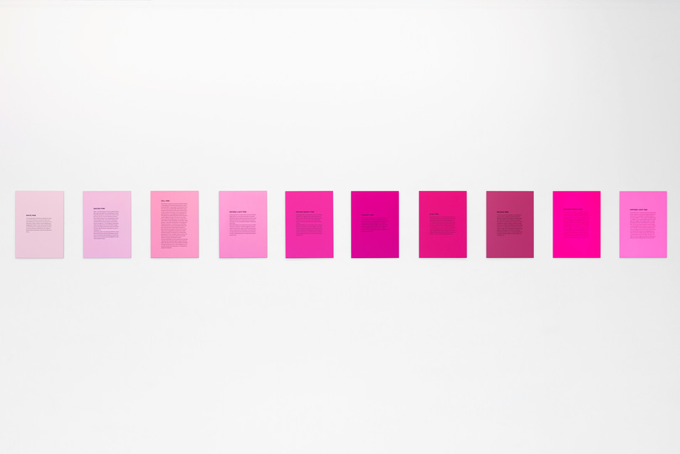 Pink Colour System, 2016/2019