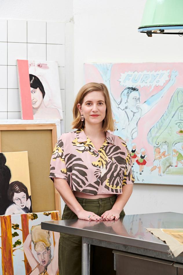 Laura Badertscher, Artist