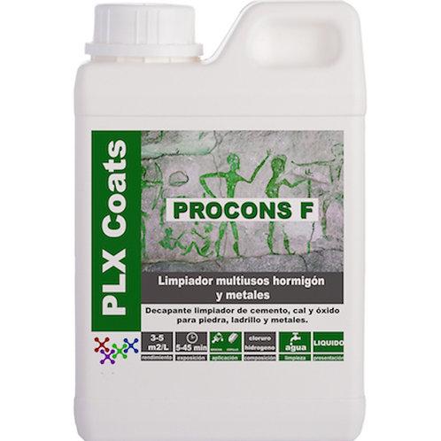 PROCONS-F (L-62) Limpador ácido concentrado