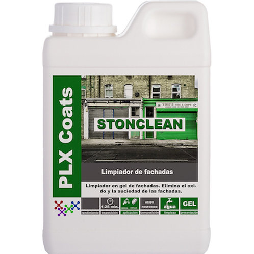 STONE CLEAN (L-65) Facades cleaner in Gel