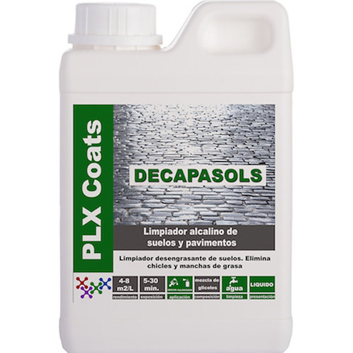 DECAPASOLS (L-60) Limpieza suelos