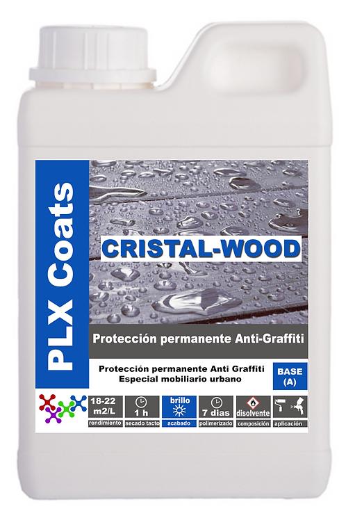 PLX WOOD (P-04) PERMANENT ANTIGRAFITI for WOOR