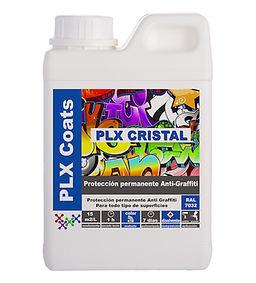 plx cristal Protección antigraffiti permanente en color