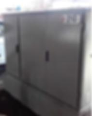 CUADRO ELECTRICO DESPUES de proteger con PLX CRISTAL COLOR