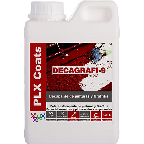 DECAGRAFI-9 Liquid (D-44) Universal paint stripper in liquid