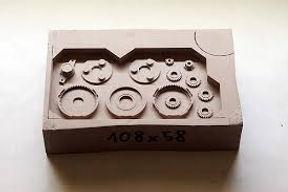 fabricacion de piezas de metal con masilla liquida