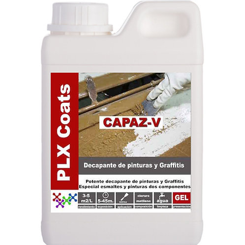 CAPAZ-V (D-55) Decapante profesionales Ph neutro