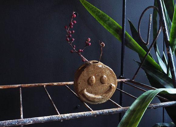 Smiley Face Vase