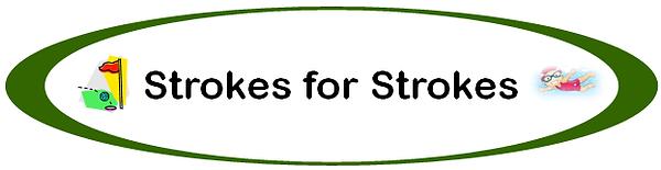 Strokes for Strokes logo